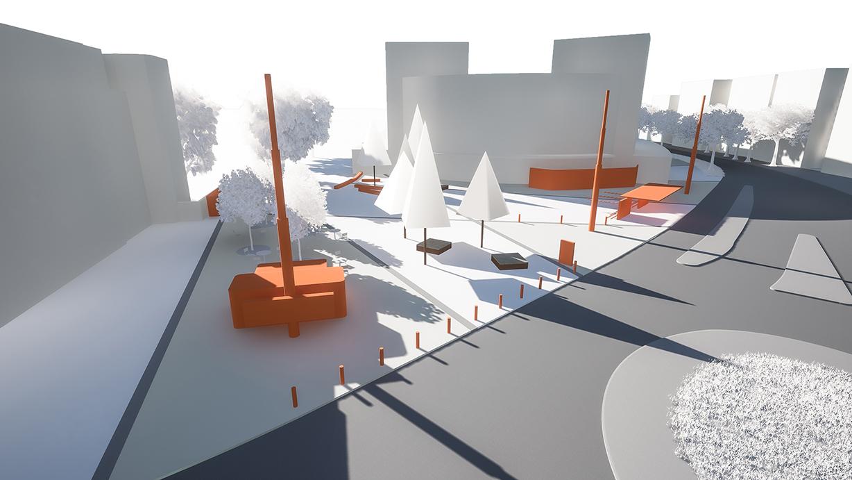 Konzeptstudie Sonnenplatz Emmen